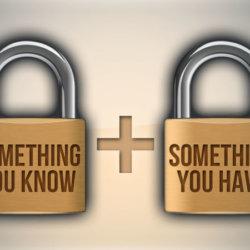 twee staps authenticatie